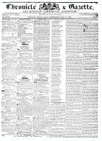 Chronicle & Gazette, 11 May 1836