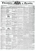 Chronicle & Gazette, 14 May 1836