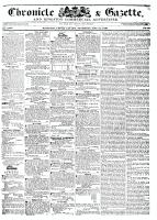 Chronicle & Gazette, 21 May 1836