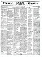 Chronicle & Gazette, 13 July 1836