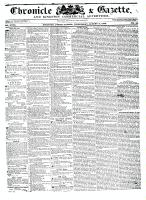 Chronicle & Gazette, 3 August 1836