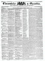Chronicle & Gazette (Kingston, ON1835), August 6, 1836