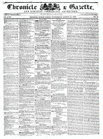 Chronicle & Gazette, 10 August 1836