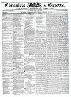 Chronicle & Gazette, 13 August 1836