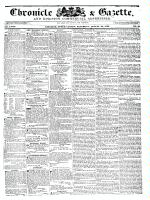 Chronicle & Gazette (Kingston, ON1835), August 20, 1836