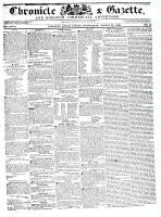 Chronicle & Gazette, 24 August 1836