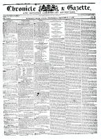 Chronicle & Gazette, 7 September 1836