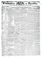 Chronicle & Gazette (Kingston, ON1835), September 10, 1836