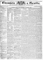 Chronicle & Gazette (Kingston, ON1835), October 8, 1836