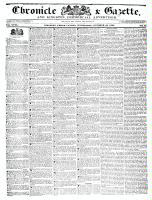 Chronicle & Gazette, 19 October 1836