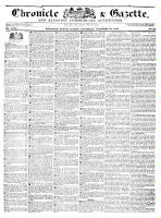 Chronicle & Gazette (Kingston, ON1835), October 22, 1836