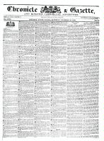 Chronicle & Gazette, 29 October 1836