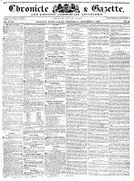 Chronicle & Gazette, 2 November 1836
