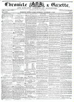 Chronicle & Gazette, 5 November 1836