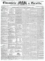 Chronicle & Gazette, 12 November 1836