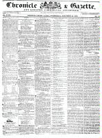 Chronicle & Gazette, 16 November 1836