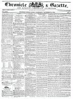 Chronicle & Gazette, 23 November 1836