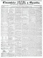 Chronicle & Gazette, 26 November 1836
