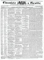 Chronicle & Gazette, 10 December 1836