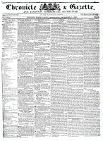 Chronicle & Gazette, 21 December 1836