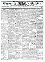 Chronicle & Gazette, 7 January 1837