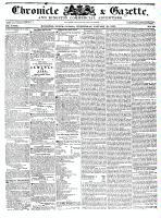 Chronicle & Gazette, 25 January 1837