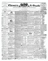 Chronicle & Gazette, 18 August 1841