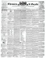 Chronicle & Gazette, 13 November 1841