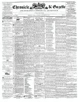 Chronicle & Gazette, 20 November 1841