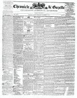 Chronicle & Gazette, 1 December 1841