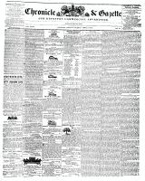 Chronicle & Gazette, 9 April 1842