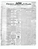 Chronicle & Gazette, 9 December 1843