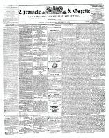 Chronicle & Gazette, 13 December 1843