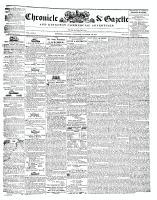 Chronicle & Gazette, 19 October 1844