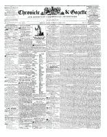 Chronicle & Gazette, 8 March 1845