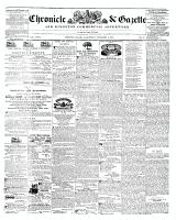 Chronicle & Gazette, 5 November 1845