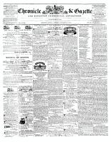 Chronicle & Gazette, 8 November 1845