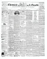 Chronicle & Gazette, 6 December 1845