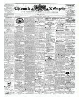 Chronicle & Gazette, 1 August 1846