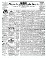 Chronicle & Gazette, 21 November 1846