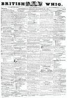 British Whig, 26 December 1834