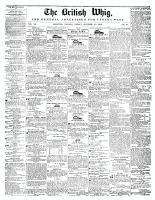 British Whig, 25 October 1844