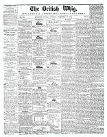 British Whig, 19 November 1844