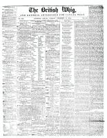 British Whig, 31 December 1844
