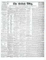 British Whig, 14 February 1845