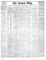 British Whig, 25 February 1845