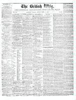 British Whig, 4 April 1845