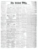 British Whig (Kingston, ON1834), August 8, 1845