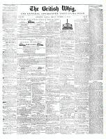 British Whig, 10 October 1845