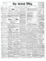 British Whig, 7 November 1845